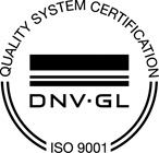 ISO 9001 Registered - DNV GL Certification