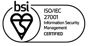 BSI ISO 27001 Registered - BSI Certification